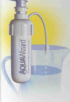 Aquawizard in use