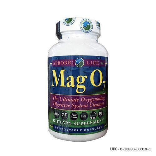 Ozonated magnesium oxides