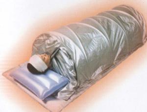 lie down relax infrared sauna