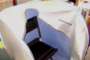 open relax sauna tent